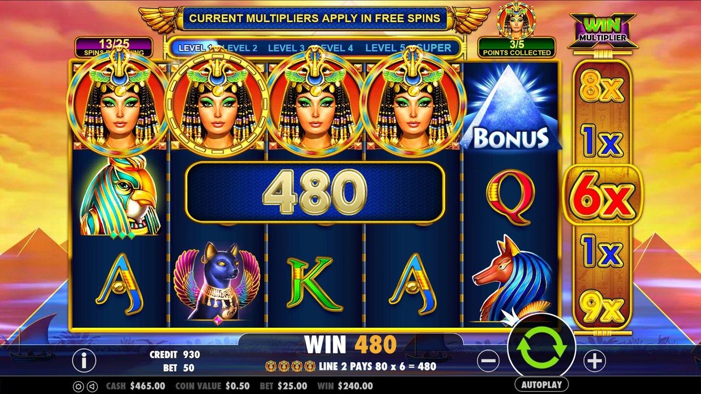 игровой слот Queen of Gold